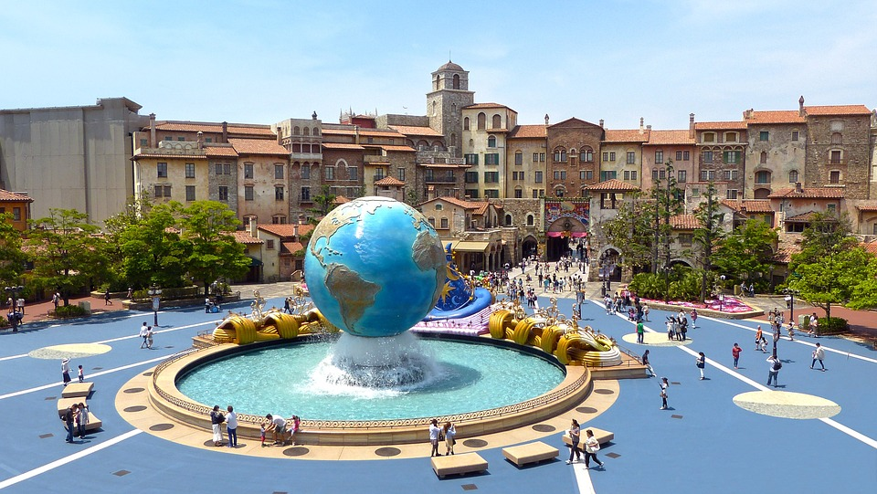 Architecture Disney Sea Tokyo Japan Building 248123 - Japan Theme Park Package