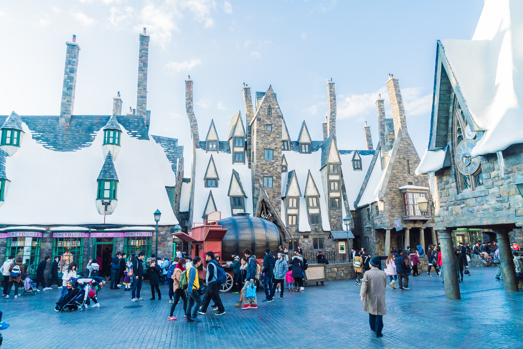 Hogwarts School of Witchcraft - Japan Theme Park Package
