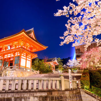 Kyoto Spring 350x350 - Magnificent Japan