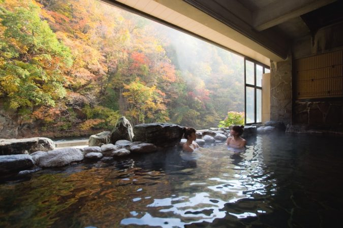 Onsen ryokan relaxation the japanese way magnificent for Ryokan giappone