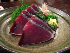 KatsuoTataki 300x225 - Sashimi - 10 Most Common Types