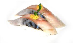 Nigiri saba 300x175 - Sashimi - 10 Most Common Types