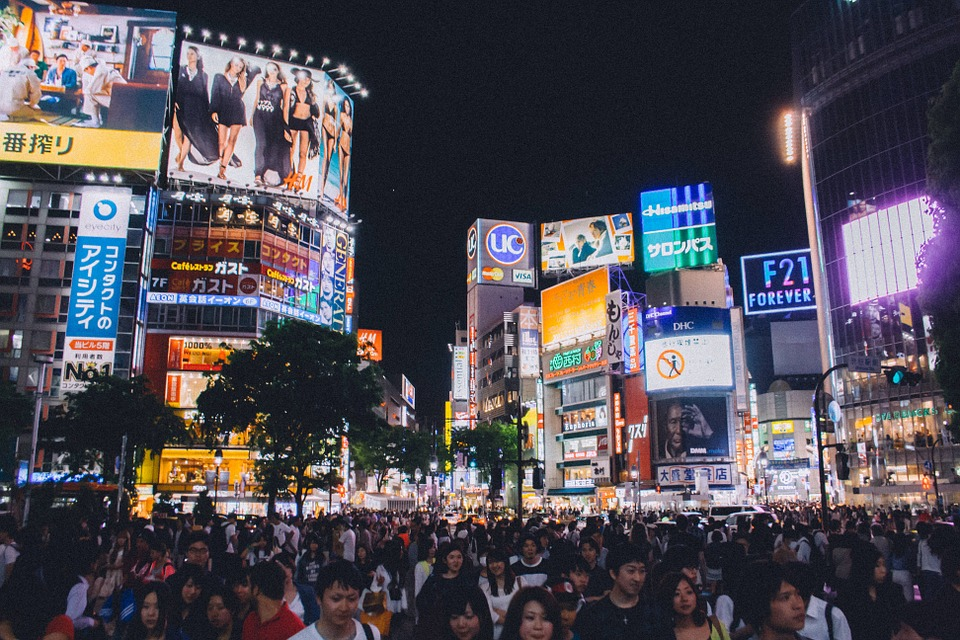 shibuya crossing 923000 960 720 - The Biggest Myths About Travel to Japan